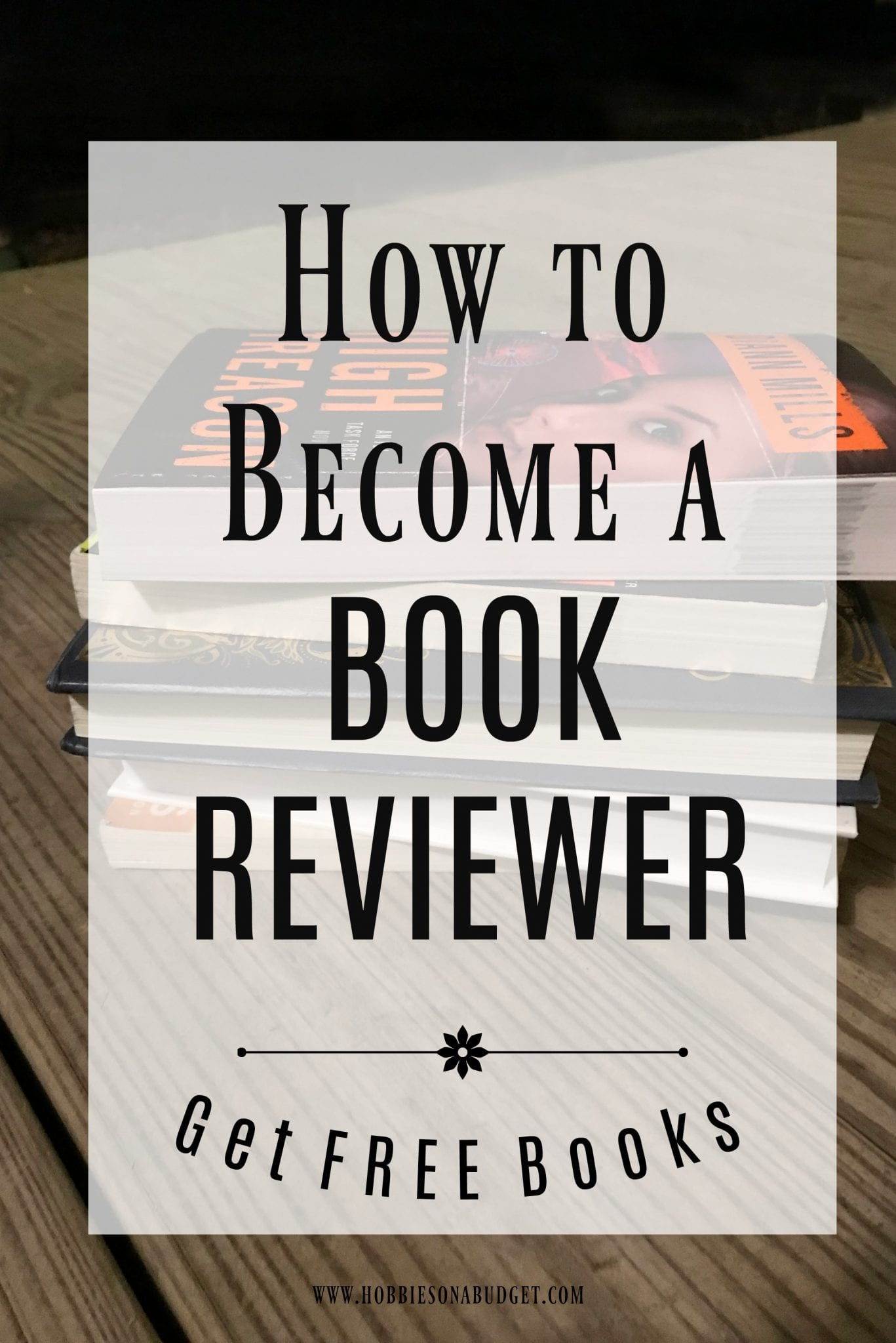 How to become a book reviewer to get free books