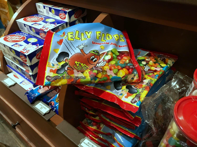 You can buy Belly Flops at Cracker Barrel