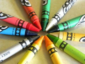 Ultimate List of Crayon Crafts