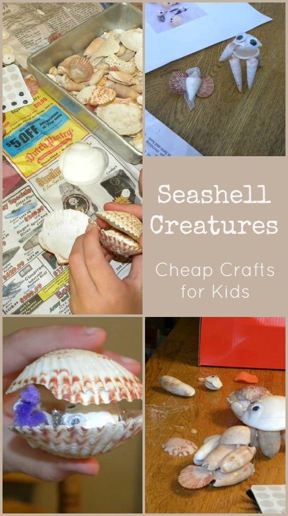 Seashell Creations for Kids