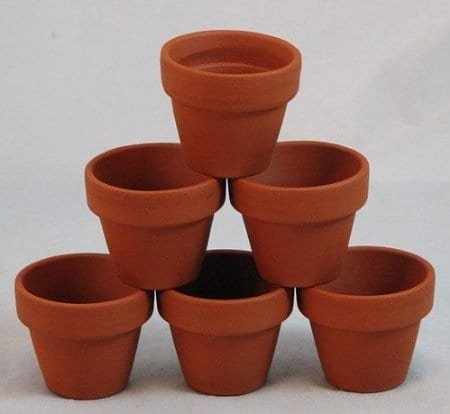 Clay pot crafts hobbies on a budget for Small clay pots