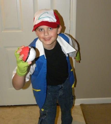 Homemade Pokemon Halloween Costumes