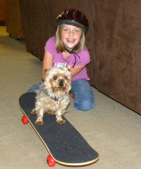 henry and skateboard