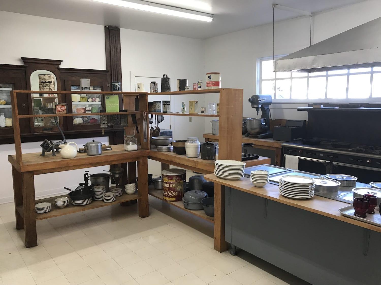 Sanders Cafe - original Kitchen display in Corbin Kentucky