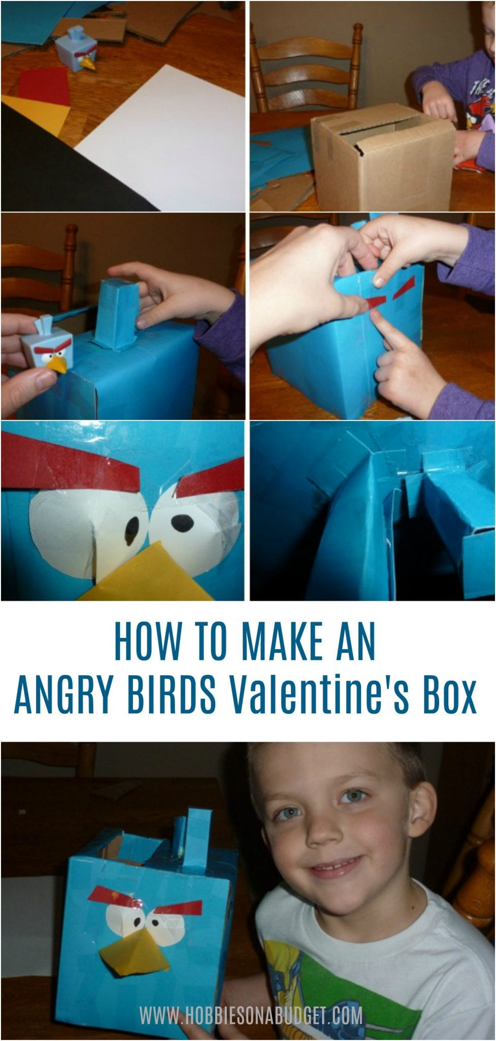How to make an Angry Birds Valentine Box
