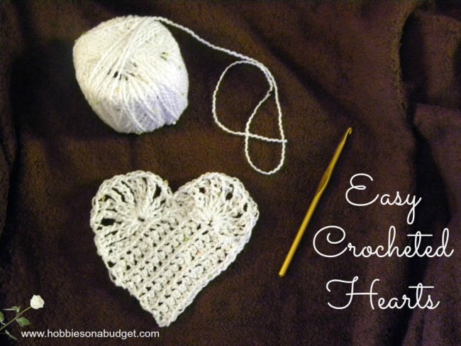 Easy Crocheted Hearts
