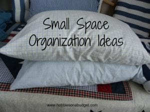 small space organization ideas