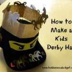 how to make a kids derby hat