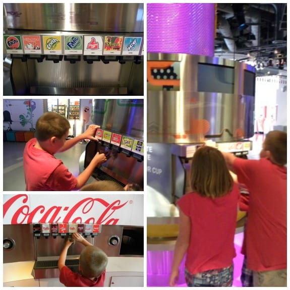 taste it - World of Coca-Cola