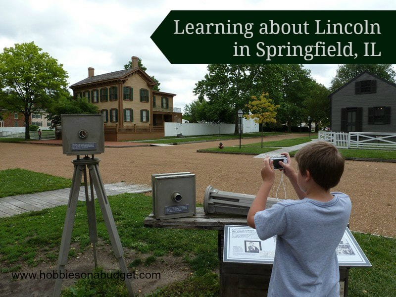 Learning about Lincoln in Springfield