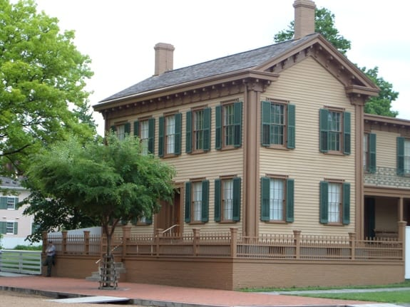 Lincoln Homeplace in Springfield
