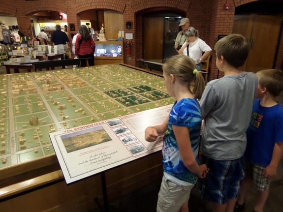 Lincoln's Visitor Center
