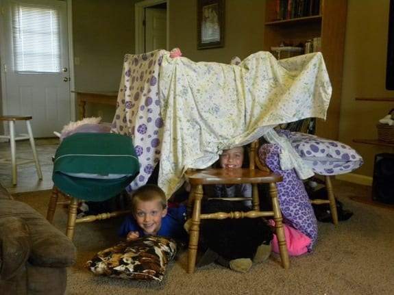 Rainy day tents hobbies on a budget for How to make a tent in your living room