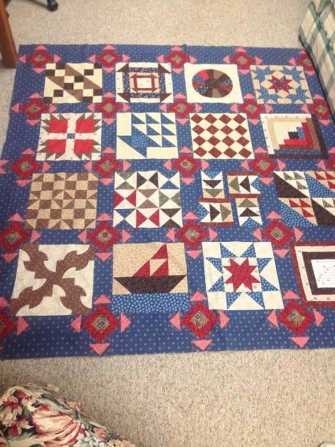 anne's quilt 2