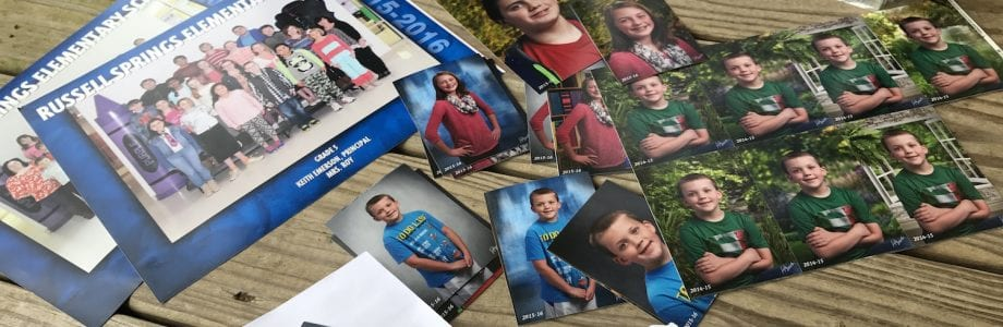 How to Organize School Pictures