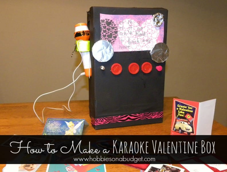 How To Make A Karaoke Valentines Day Box