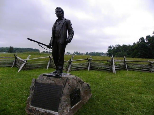 gettysburg local soldier
