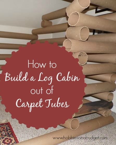 What will you create with a cardboard box hobbies on a for How to build a cabin on a budget