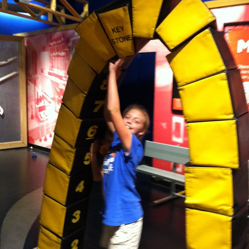 science center arch