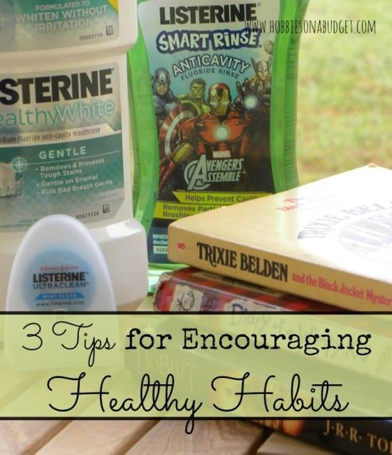 encouraging healthy habits