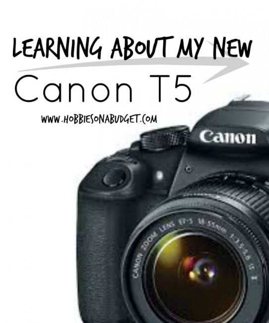 Learning-about-my-Canon-T5