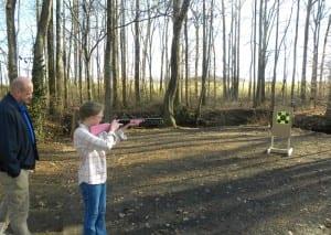 Learning Gun Safety with Daisy BB Gun