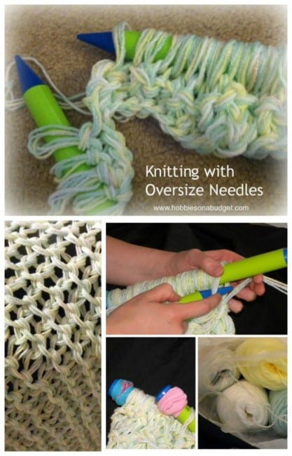 knitting-oversize-needles