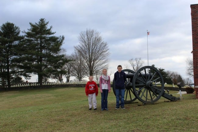 mills springs battlefield kids_tn