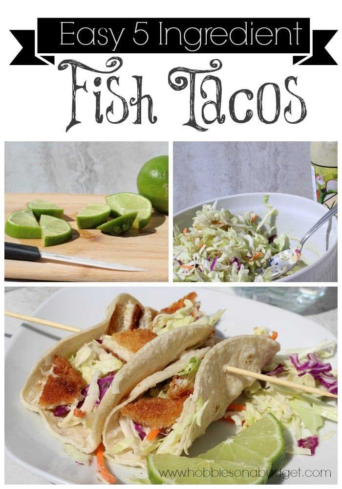 Easiest 5 ingredient fish tacos hobbies on a budget for Flounder fish tacos