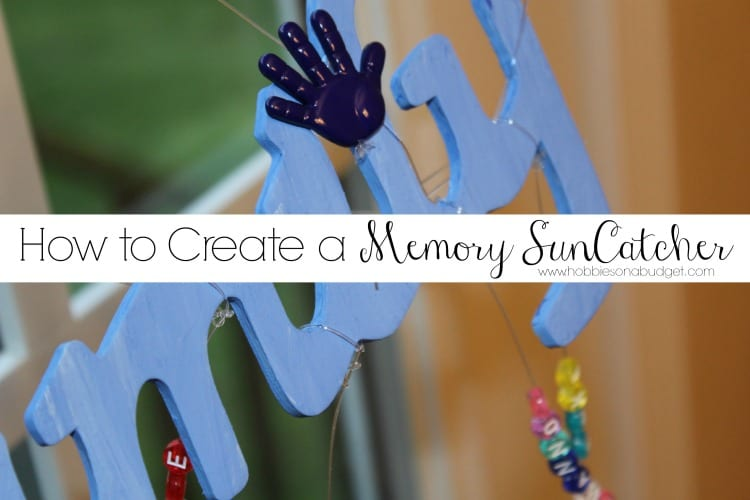 How to create a memory suncatcher