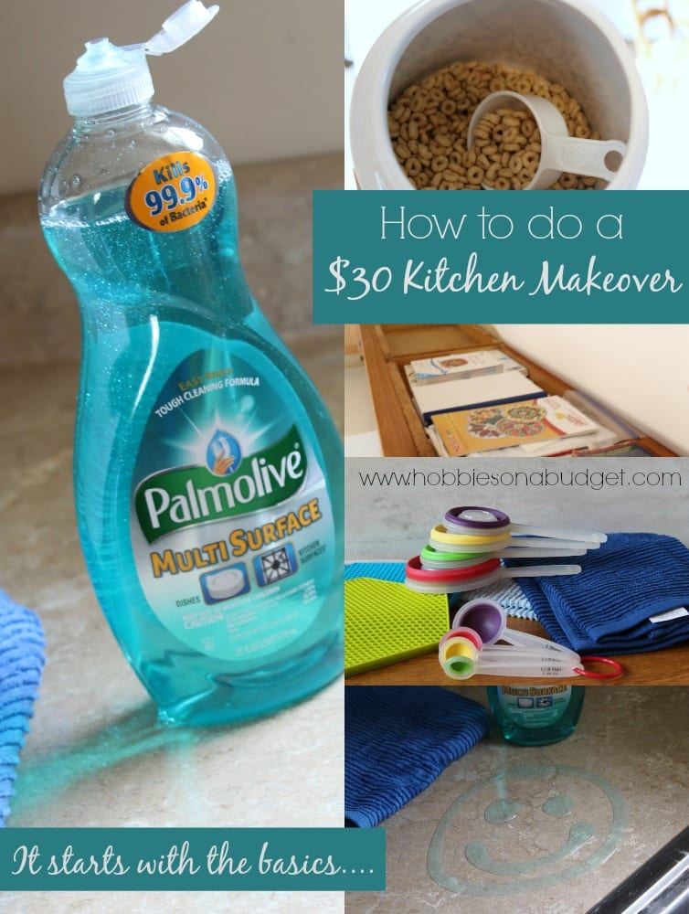 How to do a 30 kitchen makeover hobbies on a budget - Kitchen wow mini makeovers ...