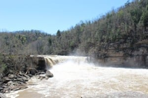 Cumberland Falls after the Rain