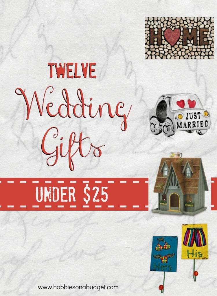Wedding Gift Ideas Under USD25 : 12 Wedding Gifts under USD25