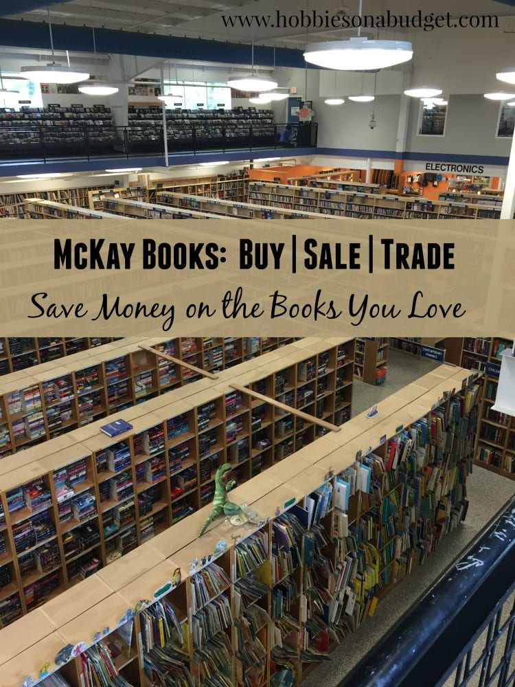 used books at mckay book media store hobbies on a budget. Black Bedroom Furniture Sets. Home Design Ideas
