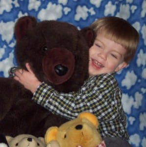 connor and big bear