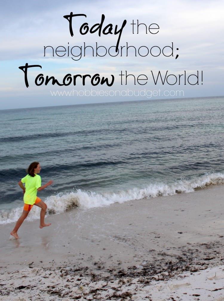 today the neighborhood