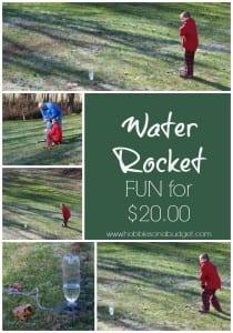 Water Rocket Fun for $20