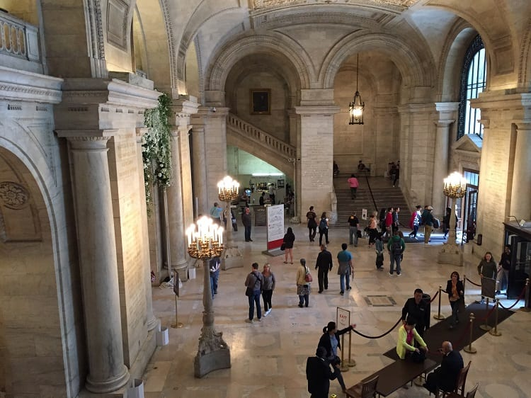 NYC Public Library 1