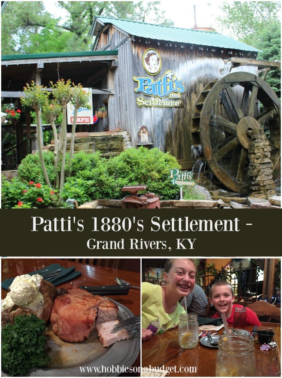 Pattis 1880s Settlement:  Grand Rivers, Kentucky
