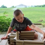 Easy Toilet Paper Roll Forts for Kids