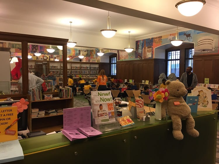 NYC Public Library Kids Room