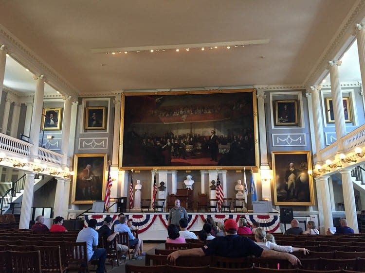 Faneuil Hall Boston Massachusetts
