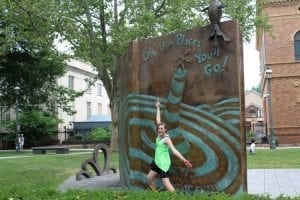 Visiting the Dr Seuss Memorial Sculpture Garden