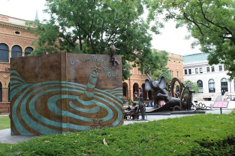 Dr Seuss Memorial Sculpture Garden