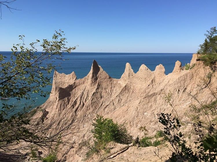 Chimney Bluff State Park - Lake Ontario