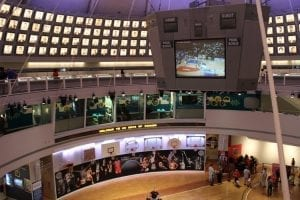 Visiting Naismith Memorial Basketball Hall of Fame