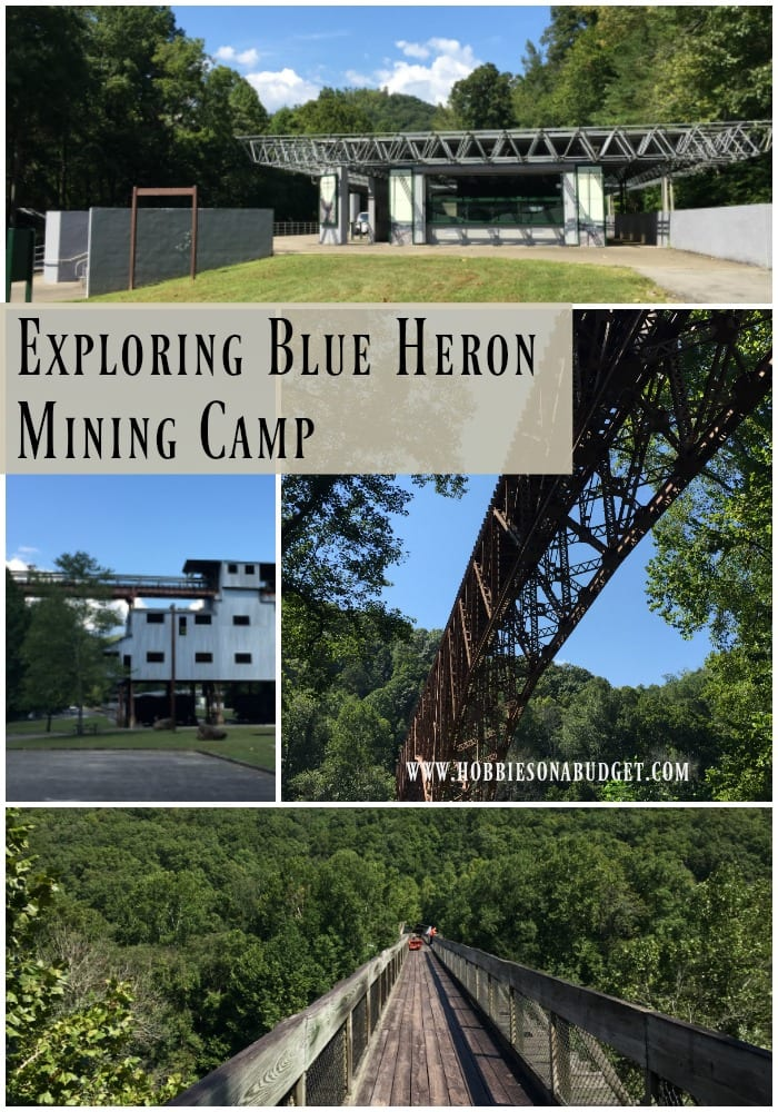 exploring blue heron mining camp