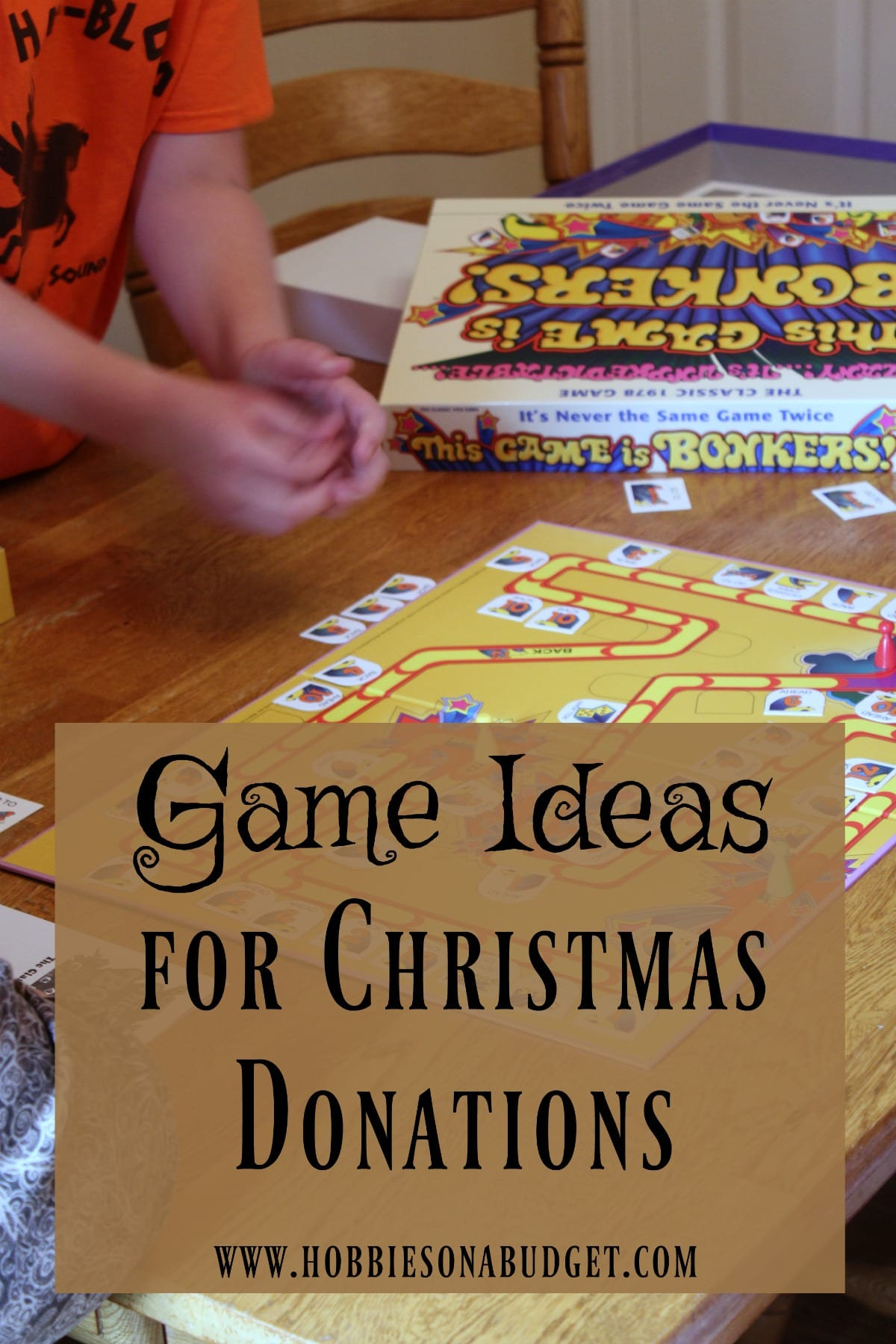Game Ideas for Christmas Donations