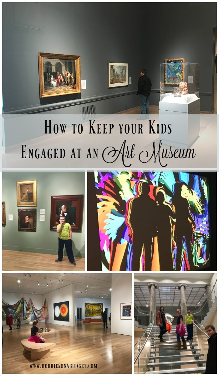 how to Keep your Kids Engaged at an Art Museum