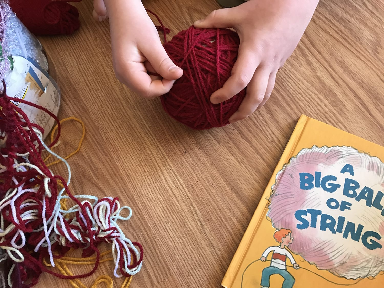 A Big Ball of String Kids Activity
